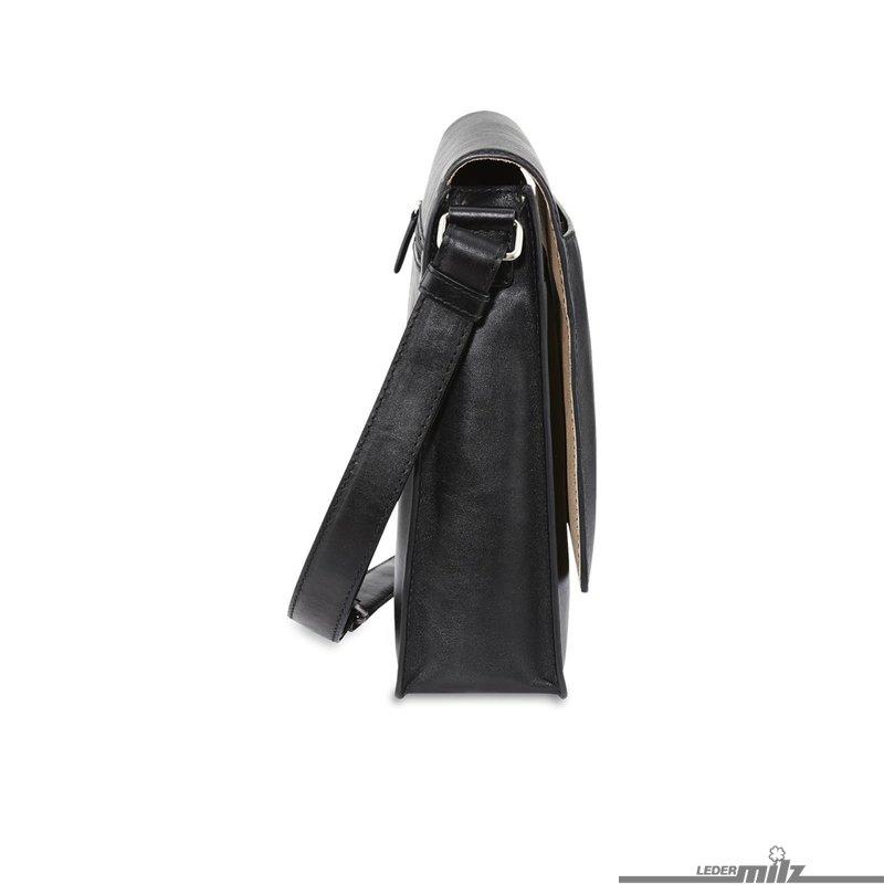 picard umhängetasche schwarz echtleder